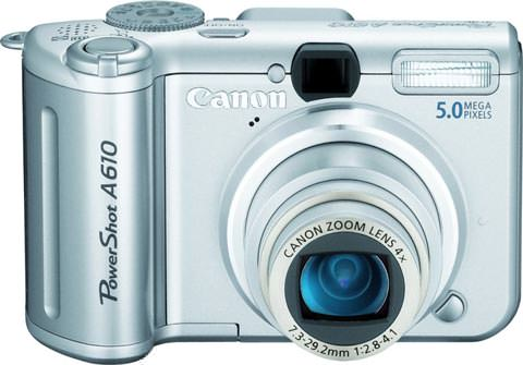 Canon Powershot A610