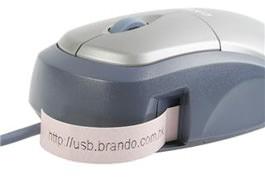 Casio Label Mouse Printer