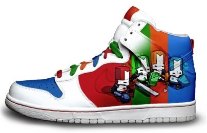 Castle Crashers Sneakers