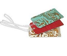 Circuit Board Luggage Tags