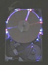 Hard Drive Wall Clock