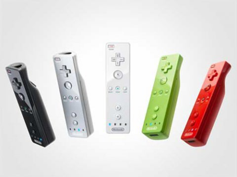 Colored Wii-motes