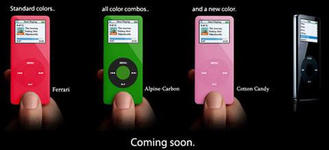 Colorware iPod nano