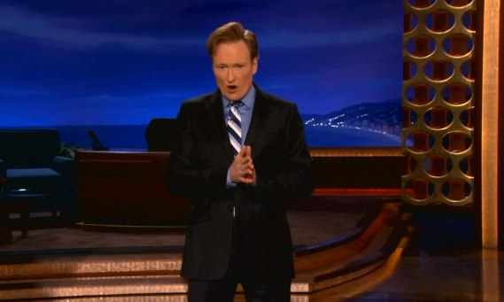 Conan O'Brien iPhone 5