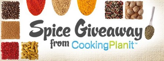Spice Giveaway Cooking Planit