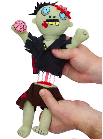 Dismember Me plush zombie