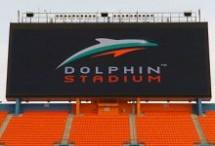Dolphin Stadium HDTV