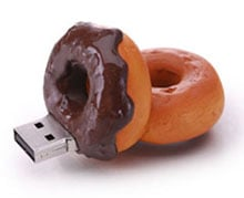 Chocolate Donut USB