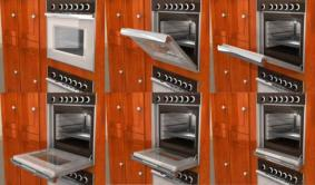 Dooraway Retractable Oven Door