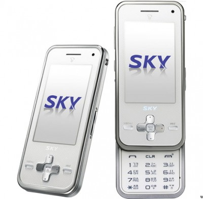 Pantech doublEye cell phone