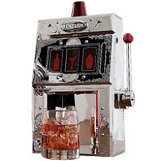 Slot Machine Liquor Dispenser