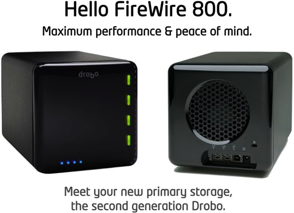 Drobo second generation