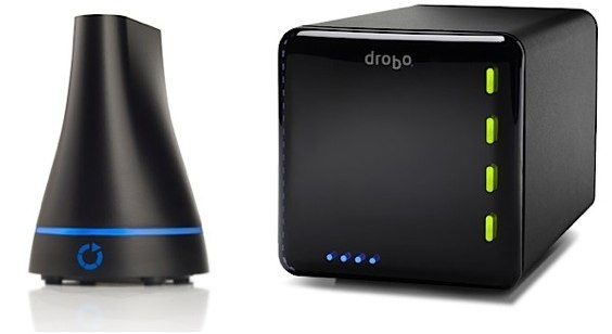 Drobo Transporter Connected Data merger