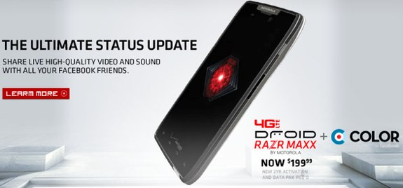 Droid RAZR Maxx price drop