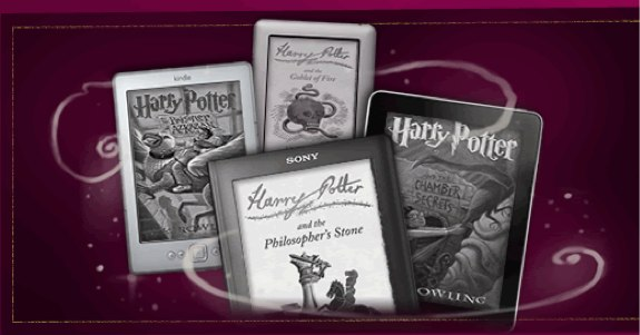 Harry Potter eBooks pottermore