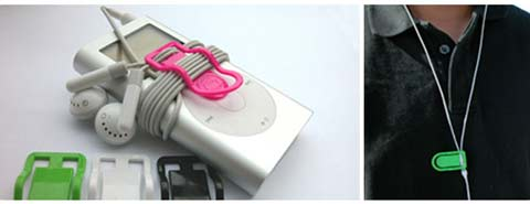 earbud clip