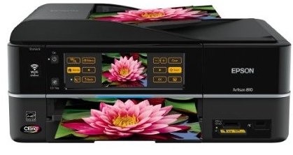 Epson Artisan 810 is all-in-one printer