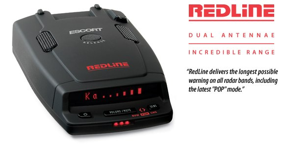 Escort Redline scanner