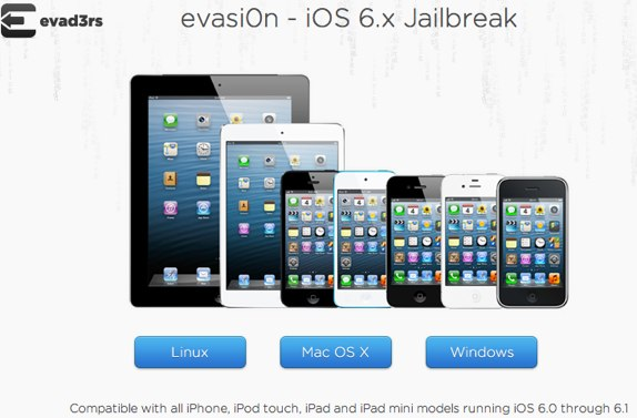 iOS 6 iPhone 5 evasi0n jailbreak