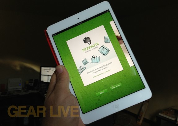 Evernote 5.0 iOS