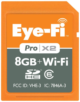 eye-fi pro x2 holiday gift