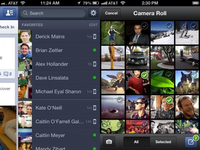 Facebook App 4.1 iOS