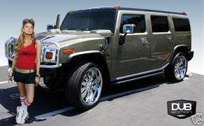 Fergie's Hummer