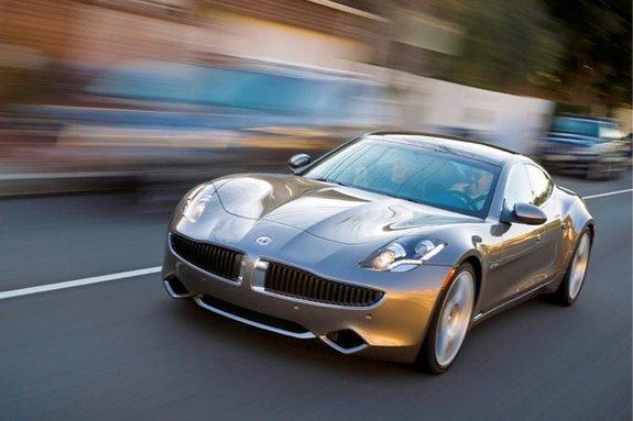 Fisker Karma Recall