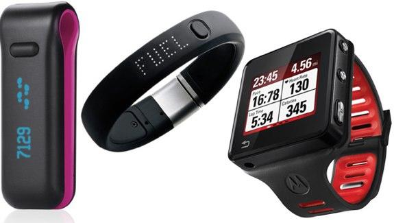 Fitness Gadgets Fitbit nike bodymedia