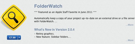 FolderWatch Retina display