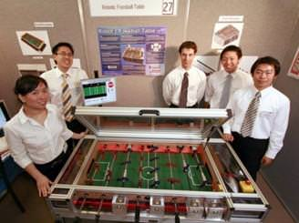 Robotic Foosball Table