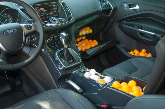 Ford Escape Ping Pong Balls