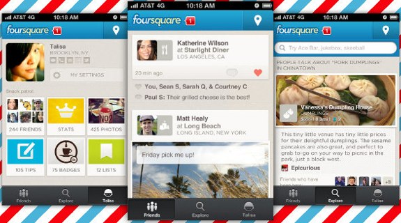 Foursquare 5.0