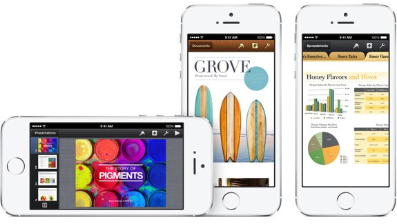Free iWork and iLife apps