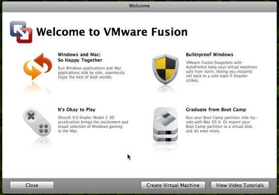 VMware Fusion 2