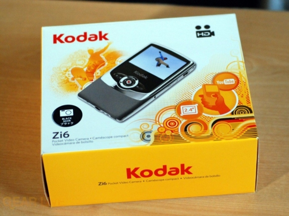 Kodak Zi6 box front