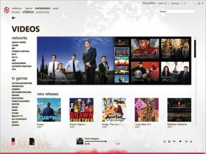 Zune 2.5 Video Store