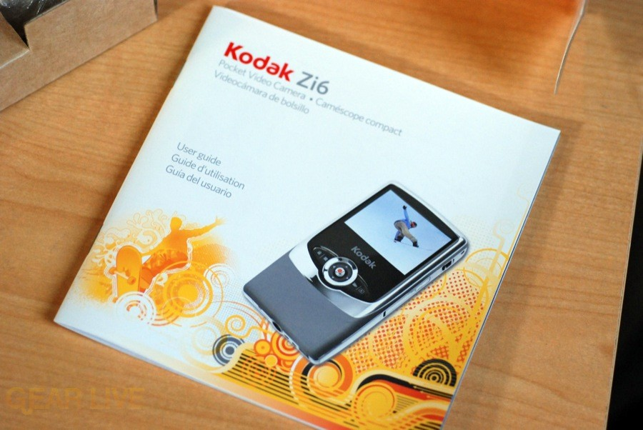 Kodak Zi6 instruction manual