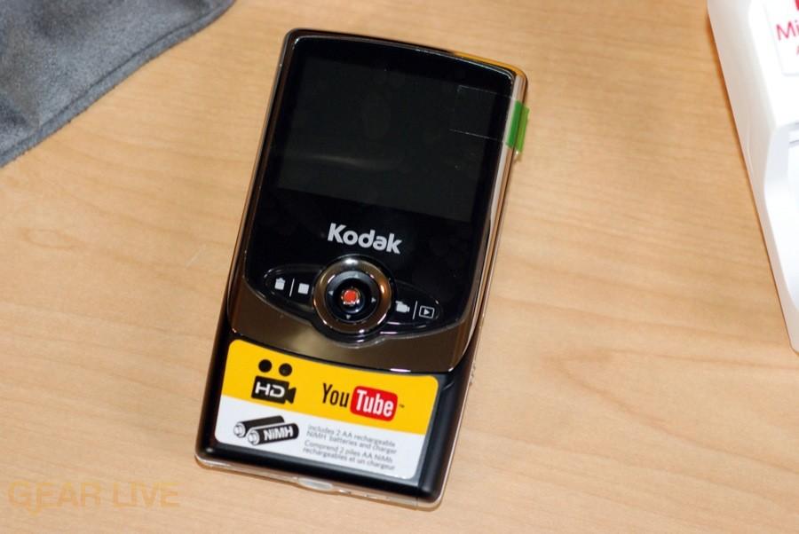 Kodak Zi6 camera front