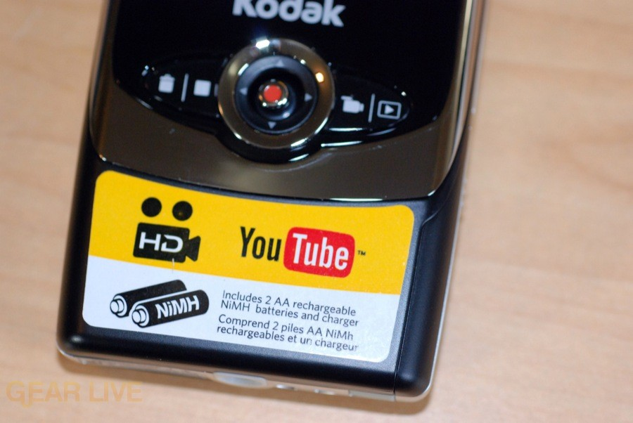 Kodak Zi6 Youtube feature