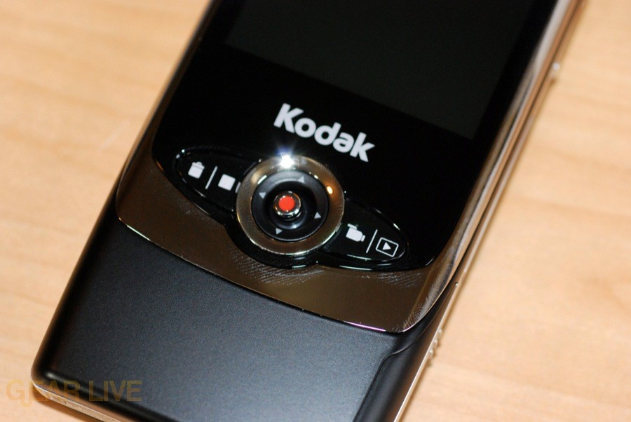 Kodak Zi6 controls