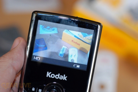 Kodak Zi6 HD video recording
