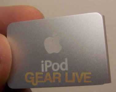 iPod shuffle Back
