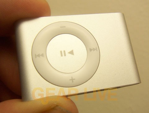 iPod shuffle Face