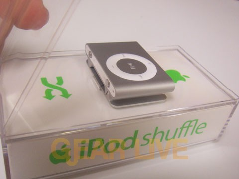 iPod shuffle Exposed