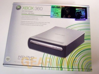 The Xbox 360 HD DVD Player