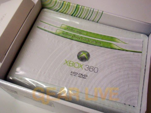 Xbox 360 HD DVD Player In Box