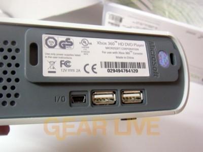 HD DVD Player USB Ports