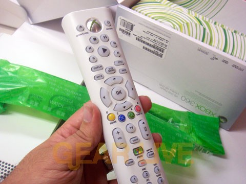 Xbox 360 Universal Media Remote Control