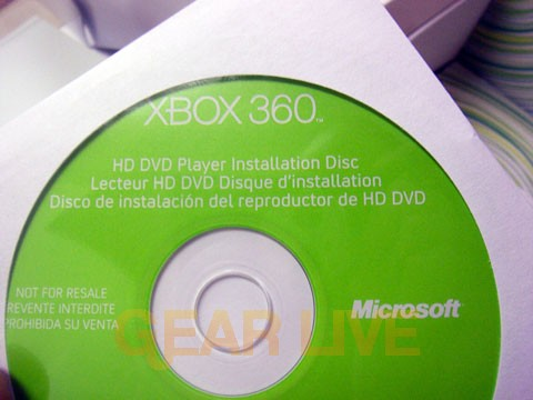 HD DVD Installation Disc